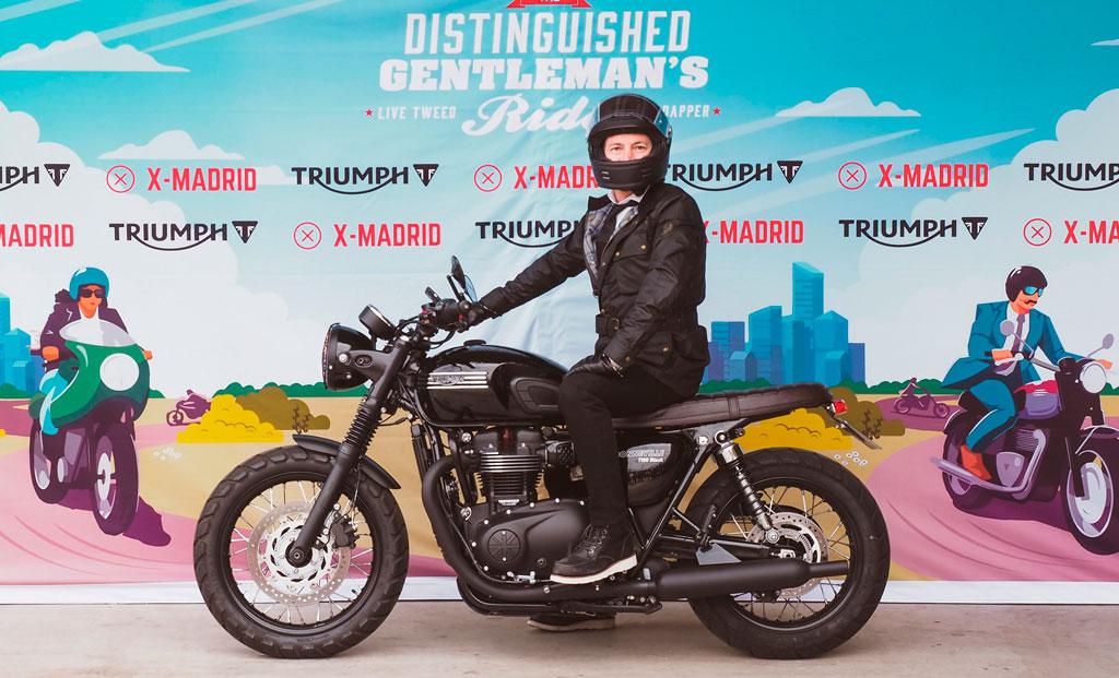 TheDistinguishedGentleman's Ride Belstaff
